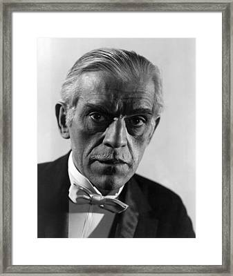 The Climax, Boris Karloff, 1944 Framed Print by Everett