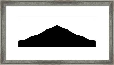 The Climb Framed Print by Danny Lally