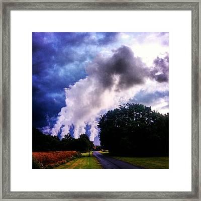 The Cloud Factory #powerstation Framed Print
