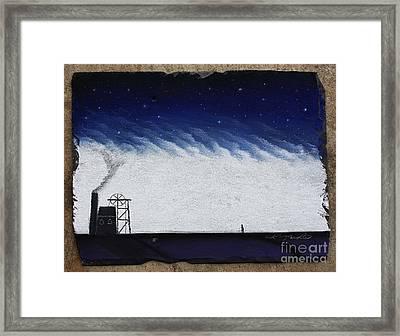 The Coal Miner Framed Print