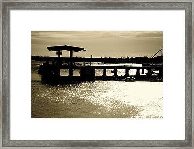The Coastal Route Framed Print by Jez C Self