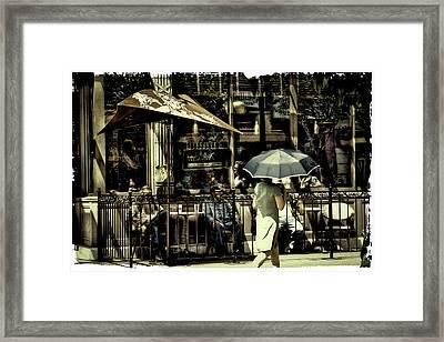 The Coffee Break Framed Print