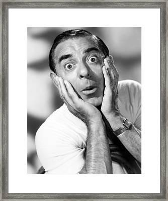 The Colgate Comedy Hour, Eddie Cantor Framed Print