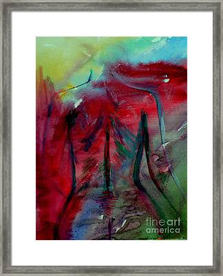 The Color Of Beauty Framed Print by Julie Lueders