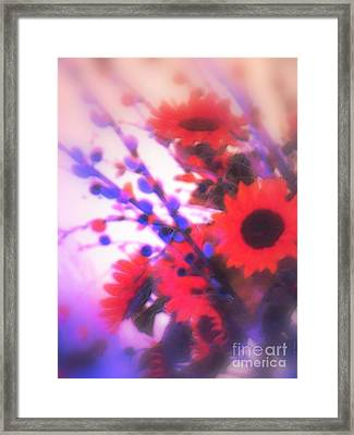 Framed Print featuring the photograph The Color Of Dreams by Roxy Riou