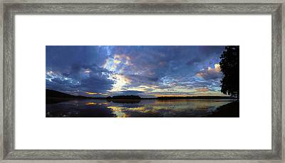 The Colors Of Morning  Framed Print by John Ungureanu
