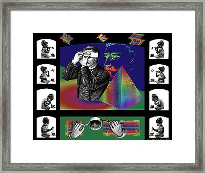 The Confession Framed Print by Eric Edelman