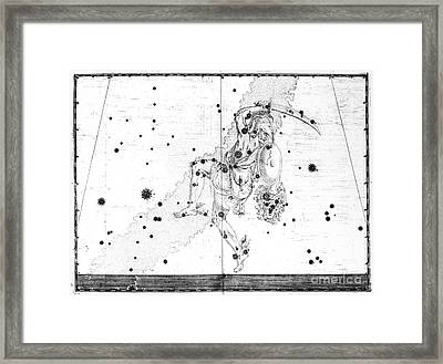 The Constellation Perseus Framed Print