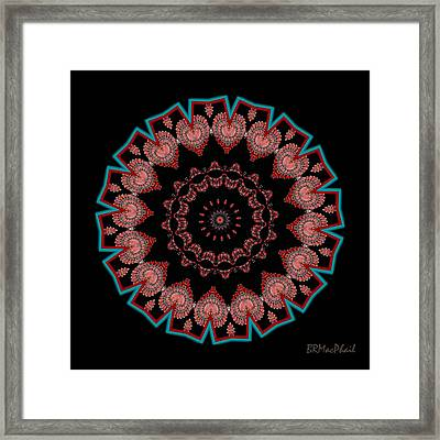 Framed Print featuring the photograph The Coral Jewel by Barbara MacPhail