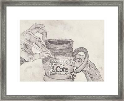The Core Mug Framed Print by TK Mayfield