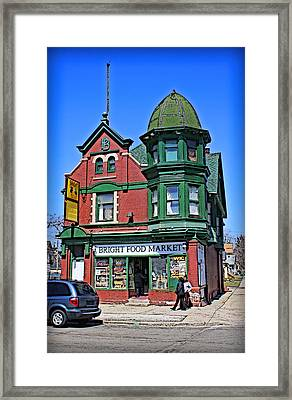 The Corner Store Framed Print by Geoff Strehlow