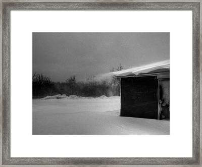 The Cornice Framed Print by William Fields