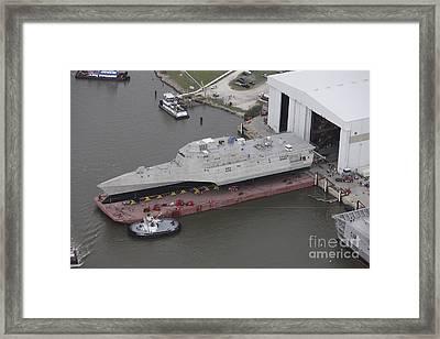 The Coronado Littoral Combat Ship Framed Print