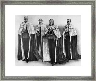 The Coronation Of George V, The British Framed Print by Everett