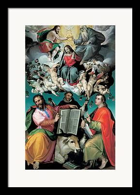 Virgin Queen Framed Prints