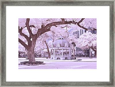 The Coronation Pavilion Framed Print by James Walsh