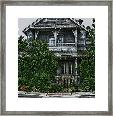 The Cottage Framed Print by Tamera James