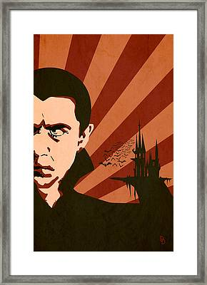 The Count Framed Print by Dave Drake