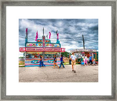 The County Fair Framed Print