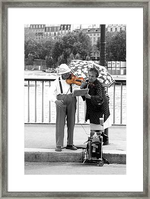 The Couple Framed Print by Kelly Jones
