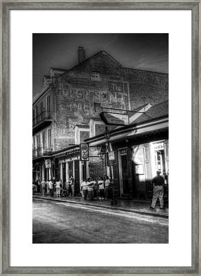 The Court Of Two Sisters Court Tavern Framed Print