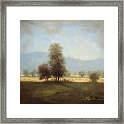 The Cove Framed Print by Jonathan Howe