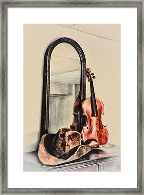 The Cowboys Dresser Framed Print by Bill Cannon