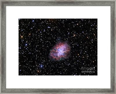 The Crab Nebula Framed Print by R Jay GaBany