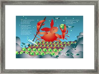The Crabbit Framed Print by Gene Rosner