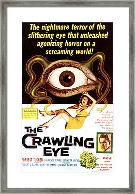 The Crawling Eye, Forrest Tucker Right Framed Print