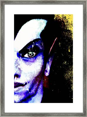 The Creature Within Framed Print by Russell Clenney
