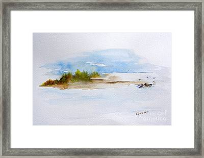 The Creek Framed Print by Sibby S
