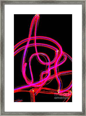 The Crescendo Framed Print by Xn Tyler