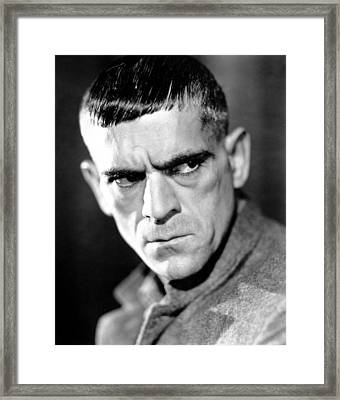 The Criminal Code, Boris Karloff, 1931 Framed Print by Everett