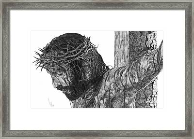 The Cross Framed Print by Bobby Shaw