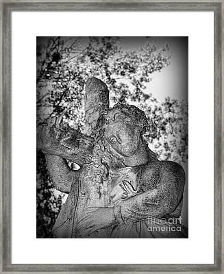 The Cross I Bear Framed Print by Paul Ward