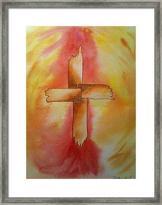 The Cross Framed Print