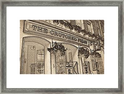 The Crutched Friar Public House Framed Print by David Pyatt