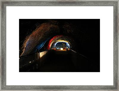 The Crysled Salt Framed Print