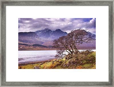 The Cuillins Skye Framed Print
