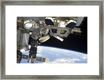 The Cupola Of The International Space Framed Print