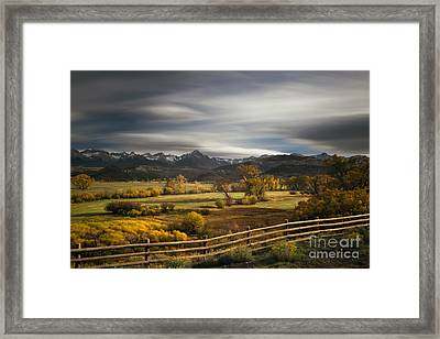 The Dallas Divide Framed Print