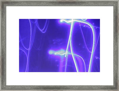 The Dance Framed Print by Artist Orange