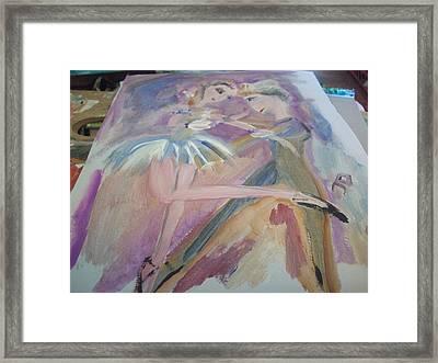 The Dance Framed Print by Judith Desrosiers