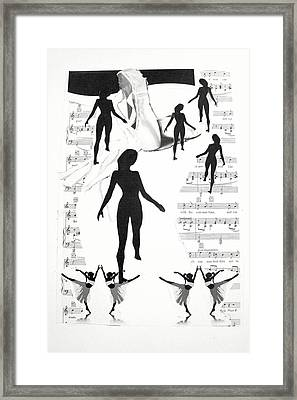 The Dance Framed Print by Kate Moore