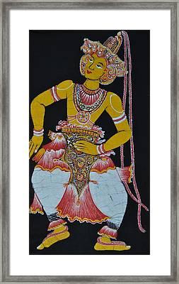 The Dance Framed Print by Kumi Rajagopal