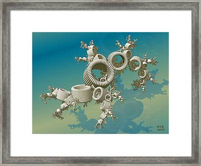 The Dance Framed Print by Manny Lorenzo