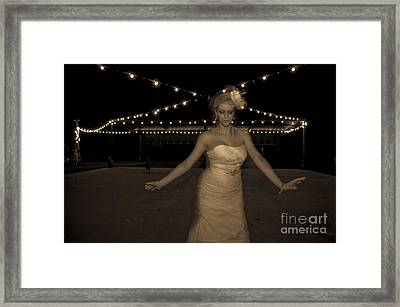 The Dancer Framed Print by Gib Martinez