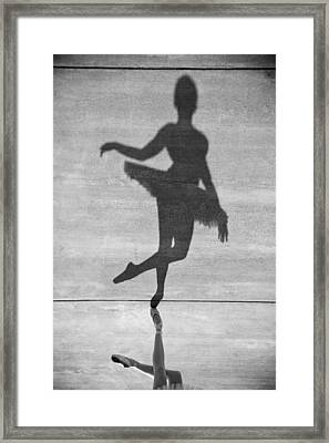 The Dancer Framed Print by Steven Gray
