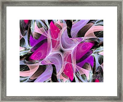 The Dancing Princesses Abstract Framed Print by Andee Design